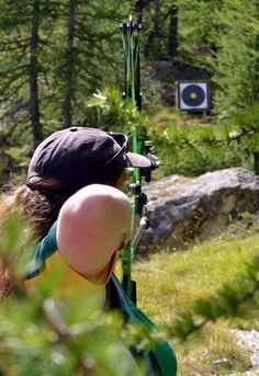 field archery - Buscar con Google Field Archery, Archery Girl, Bow Arrows, Riding Helmets, Dancing, Bows, Google, Girls, Weapons Guns