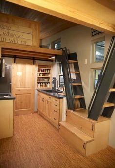 70 Genius Loft Stair for Tiny House Ideas
