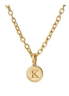 Kappa Gold Pendant - BambooPink