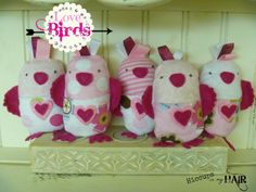 Love Birds {With a Pocket} TUTORIAL for this little cutie!  hiccupsinmyhair.com