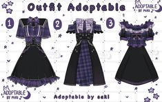 Character Inspiration, Design Inspiration, Manhwa, Drawing Clothes, Deviantart, Outfits, User Profile, Clothing Ideas, Black