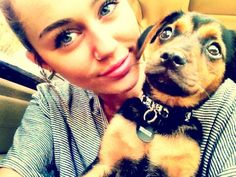 i was looking at pictures of piercings and this came up. Her dog looks terrified!!!! (I would be too.)