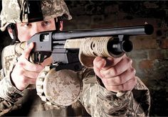 Adaptive Tactical has released the Sidewinder Venom Shotgun Magazine Conversion Kit at the 2013 NRA Show. Available in three configurations for Mossburg shotguns.