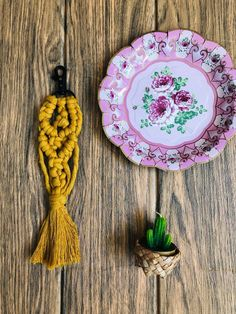 Excited to share this item from my shop: Mustard Macrame keyring / Bagcharm House Warming, Mustard, Macrame, Crochet Earrings, Gift Wrapping, Etsy Shop, Trending Outfits, Unique Jewelry, Stylish