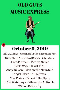 Bill Callahan, Angel Olsen, Music Express, The Bad Seed, Nick Cave, Rock Music, Album, Guys, Big