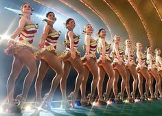The Rockettes!!!  I always wanted to be a Rockette when I was a little girl!!!  I loved my dance classes, so this was my dream!!!  Obviously, that didn't happen, but I WISH I could see them perform live one day!!!  That would be amazing!!! :)