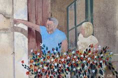 mur peint Saint Tropez
