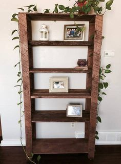 Reclaimed Rustic Bookshelf
