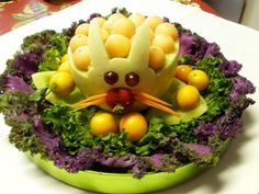 I made this for the preschool easter party and it was super cute and amazingly easy!