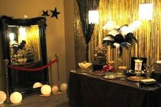 red carpet event decorations for less | Red carpet event | Adult party ideas