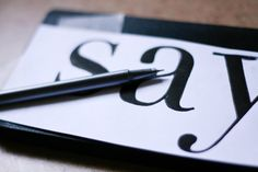 How to get perfect lettering for your DIY sign. Easy!