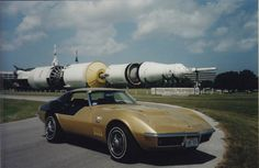 Vette Vues Magazine Blog: Alan L. Bean's 1969 Chevrolet 'Astrovette'