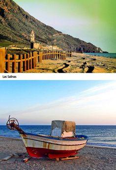 Las Salinas de Cabo de Gata #Almeria