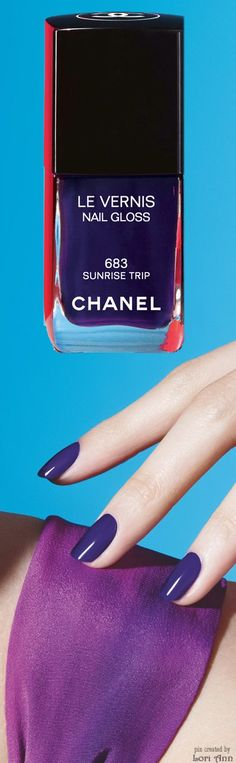 Chanel L.A. Sunrise Collection - Spring 2016 (image features: Le Vernis Nail Gloss in Sunrise Trip)
