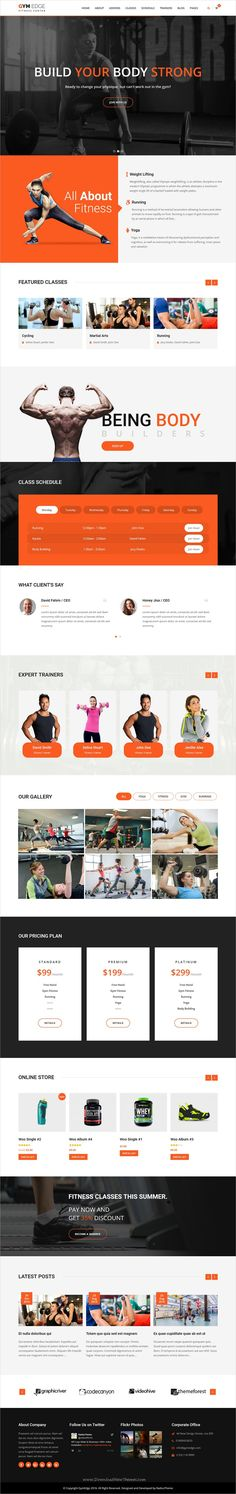 GymEdge is a wonderful responsive one & Multi page #WordPress Theme for #Gym #Fitness, Yoga & Personal Trainer websites download now➩ https://themeforest.net/item/gymedge-gym-fitness-wordpress-theme/19339465?ref=Datasata