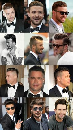 Mens Pompadour Hairstyle Is Here To Stay For 2015 | http://www.royalfashionist.com