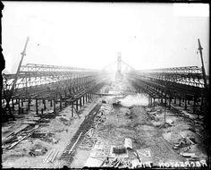 1915. Navy Pier Construction.