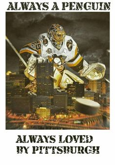 Pittsburgh Penguins goalie Marc-Andre Fleury, now a Las Vegas Golden Knight. Pens Hockey, Hockey Memes, Ice Hockey, Hockey Baby, Hockey Stuff, Pittsburgh Sports, Pittsburgh Penguins Hockey, Hockey Penguins, Pittsburgh City