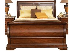 Shop for a Newberry Hills 3 Pc King Sleigh Bed at Rooms To Go. Find King Beds that will look great in your home and complement the rest of your furniture.