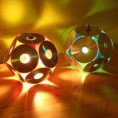 luminária artesanal criativa