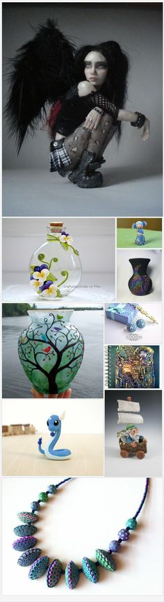 The Wonderful World of Polymer Clay  by Melissa And Wendy on Etsy