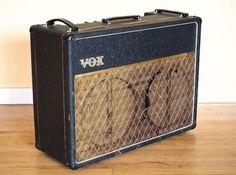 1963 Vox AC30T Vintage Tube Amp, Copper Top AC30 Vintage JMI UK AC30/6 Beatles