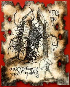 Pit of the Shoggoth by MrZarono on DeviantArt Hp Lovecraft, Lovecraft Cthulhu, Cthulhu Art, Necronomicon Pdf, Necronomicon Lovecraft, Yog Sothoth, Dark Books, Lovecraftian Horror, Ange Demon