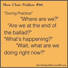 OH MY GOODNESS. I blank out everytime and then wake up once in a while during the show. This is so me.