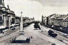 Postcards of the Past - Arad, Romania Vintage Postcards, Romania, Paris Skyline, The Past, Street View, Places, Travel, Vintage Travel Postcards, Viajes