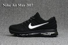 0c7f027cad Nike Air Max 2017 Men's not 2016 Sneakers Running Trainers Shoes black