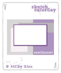 Sketch Saturday: Week #442 with Simon Says Stamp!