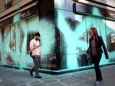 Kidult - Some kind of Warhol Love Graffiti, Graffiti Art, Environmental Graphics, Urban Art, Facade, The Neighbourhood, Street Art, Illustration Art, Culture