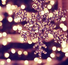 A snowflake that #sparkles