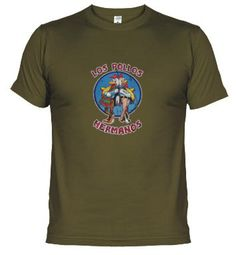 """Camiseta friki del día:"""" Breaking bad-Los pollos hermanos"""" « todocinefilia"""