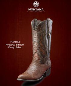 #Montana #Botas #Montana #AvestruzSmooth #Modelo MN203A2 #Color KangoTabac #MontanaisBack