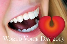 Celebrate World Voice Day throughout the month of April! Visit this site for more information on WVD events near you! Throw A Party, The Voice, Social Media, World, Day, Celebrities, Disorders, Events, Celebs