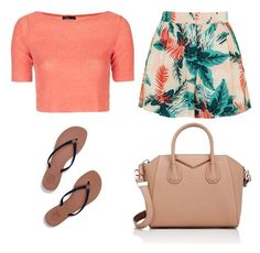 """""""Sans titre #26"""" by dreamyclassy ❤ liked on Polyvore featuring Topshop, Givenchy and Tory Burch"""