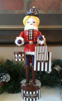 my Henri Bendel nutcracker