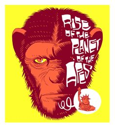 Rise of The Planet of The Apes by Dan Hipp