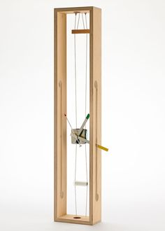 A deconstructed clock by Daniel Weil for a 2014 London Design Museum exhibition.