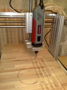 Mini CNC router plans and instructions
