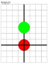 Free targets that are printable in pdf format. Rifle, pistol, airgun, benchrest, silhouette and other paper targets