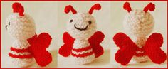 Knitted Toy Box: ♥Amigurumi Lovebug ♥