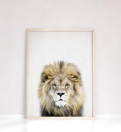 Lion Nursery, Safari Nursery, Lion Wall Art, Baby Wall Art, Baby Boy Room Decor, Nursery Wall Decor, Nursery Room, Animal Bedroom, Animal Nursery
