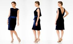 Groupon - BCBG MAXAZRIA Velvet Party Dress (Size XS) in [missing {{location}} value]. Groupon deal price: $12.97