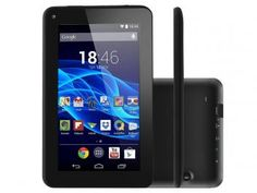 "#219,90#Tablet Multilaser Supra 8GB Tela 7"" Wi-Fi - Android 4.4 Proc. Quad Core Câmera 2 MP + Frontal"