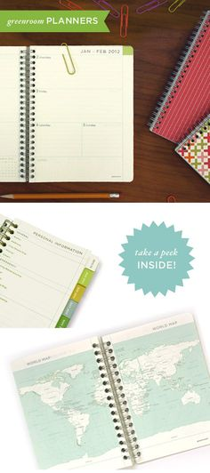 greenroom eco friendly planners available at target