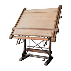 The High Boy - Design Chic-architect's drawing desk Vintage Drafting Table, Industrial Drafting Tables, Vintage Table, Drawing Furniture, Drawing Desk, Drawing Tables, Drawing Board, Table Furniture, Furniture Design