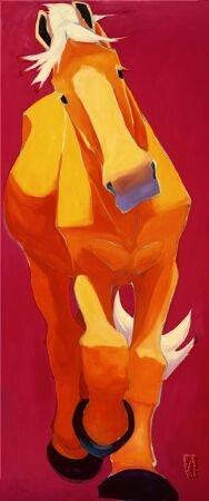 art: Palomino #46, artist: Katie Upton