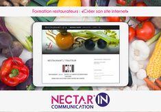 """Formation restaurateur """"faire son site internet et savoir le mettre à jour"""". Restaurant le 4."""
